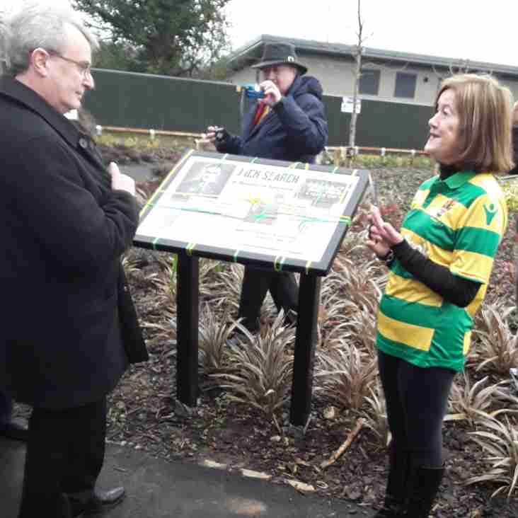 Linnets name new roadway after club's greatest ever player