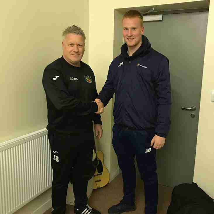 Nantwich move quick for replacement goalkeeper