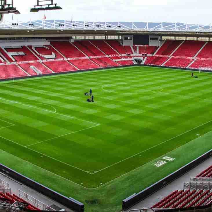 NPL pair to play at Middlesbrough's Riverside Stadium