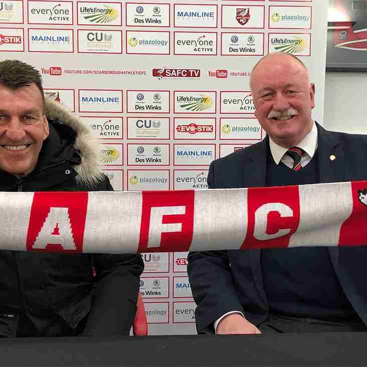 Scarborough appoint new manager