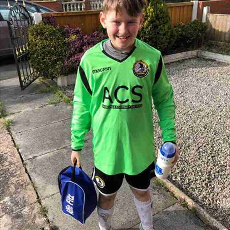 Runcorn Linnets pledge support for inspirational Alfie