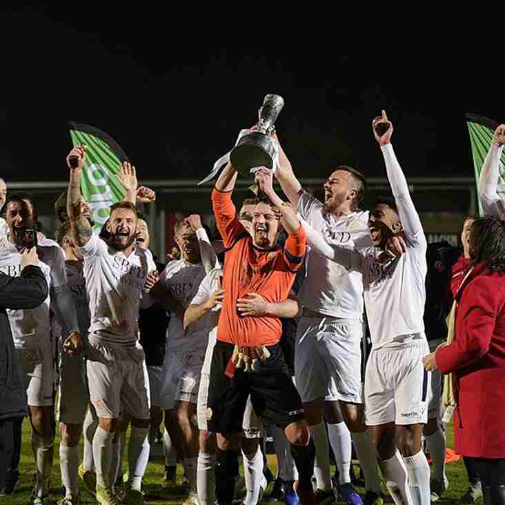 Trafford win the 2019 Integro League Cup