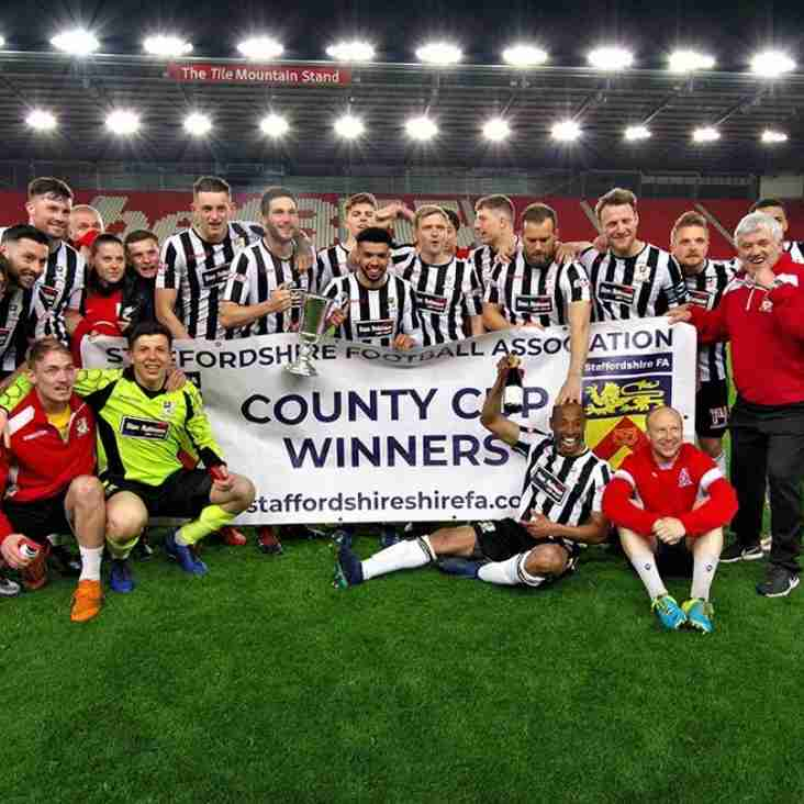 Stafford retain Staffordshire Senior Cup