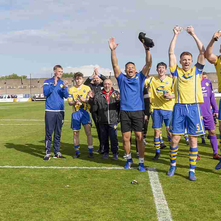 Warrington, Brighouse, Radcliffe win play-off finals