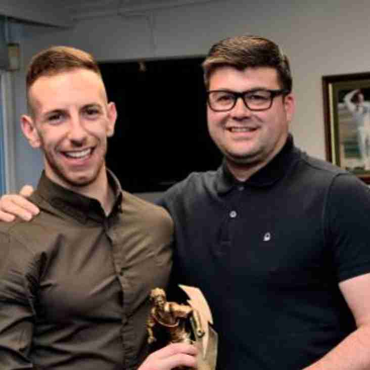 10-goal Evangelinos gets award for FA Trophy exploits