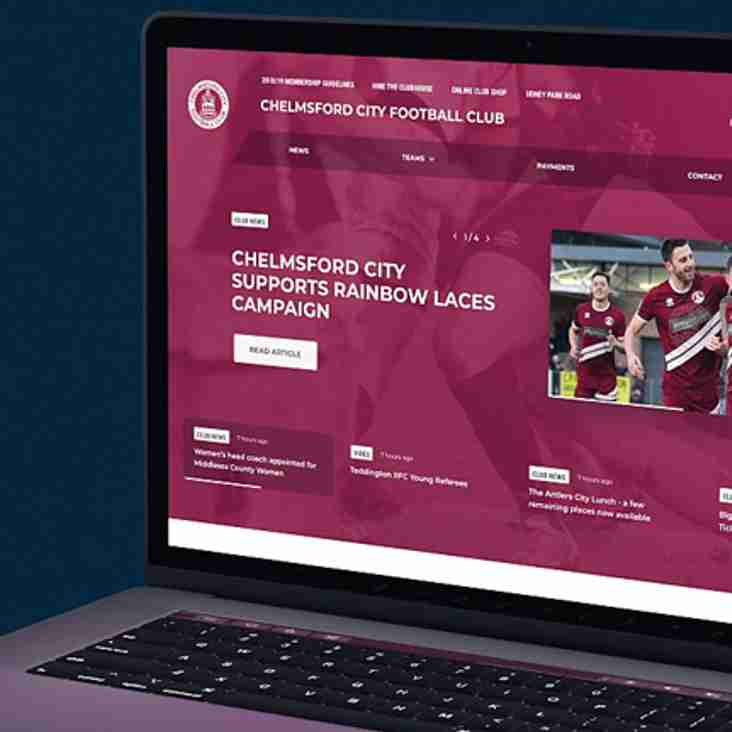New club website design from Pitchero