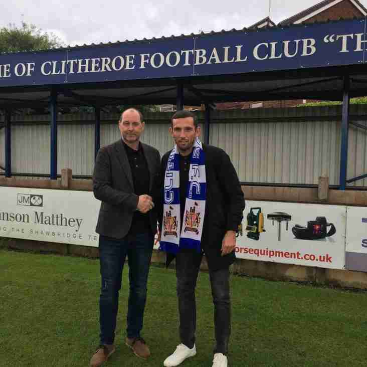 Veteran defender joins Clitheroe