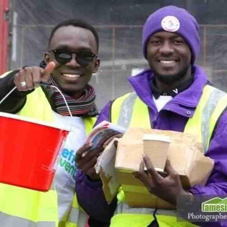 Refugees thank life-changing Ashton United