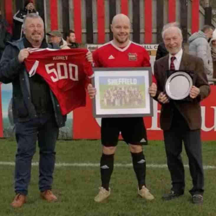 Roney hits 500 mark for Sheffield