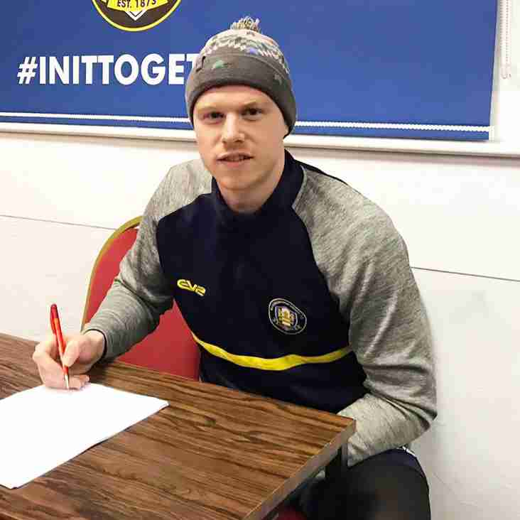 Alex Wiles extends stay at Gainsborough