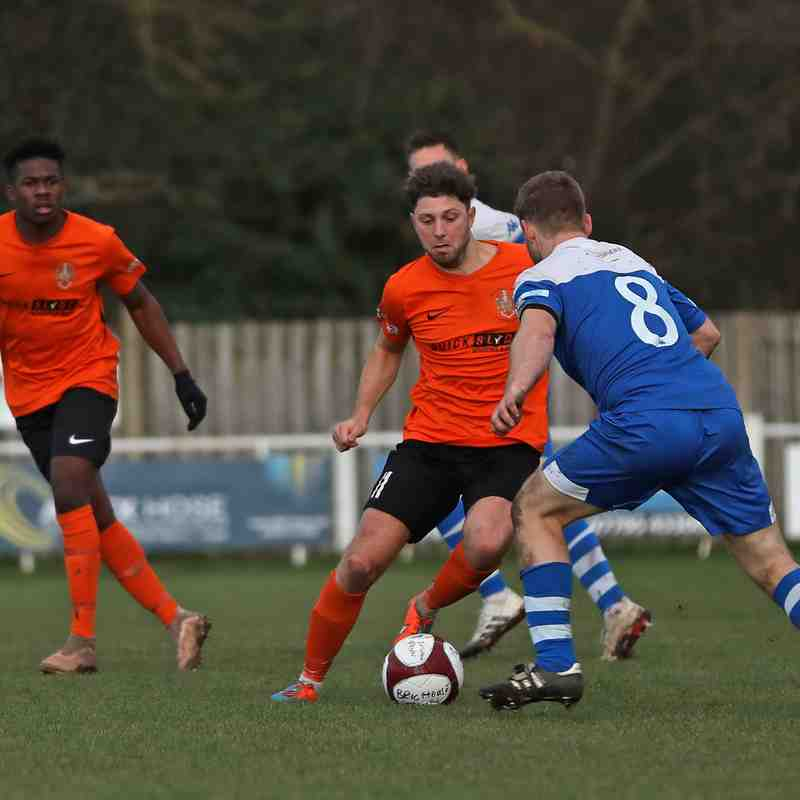 Brighouse Town 0-2 Pontefract Collieries - 07/12/19