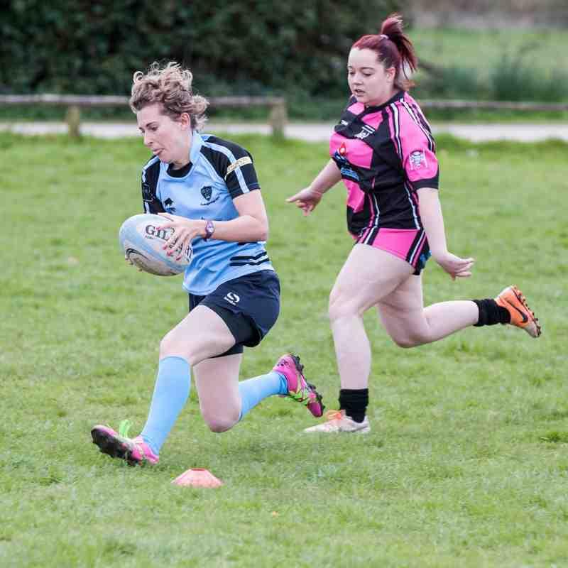 Fordingbridge Ladies 17 April 2016 Match 1