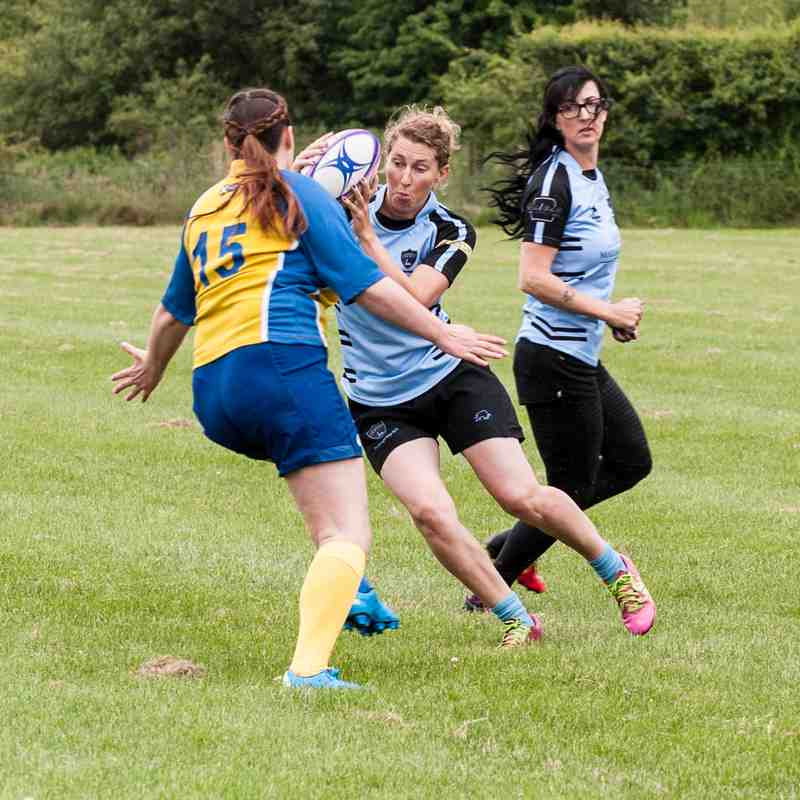 Fordingbridge Ladies Touch Team June 4 2017 Match 1