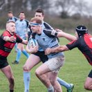 Most definitely a game of two halves as we beat Fareham Heathens 25-18 at the Rec.