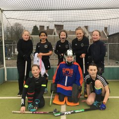 U12B Girls - Chiltern League @ Thame HC - 13.1.19