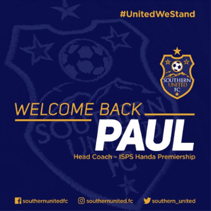 Paul O'Reilly welcomed back as ISPS Handa Premiership Head Coach