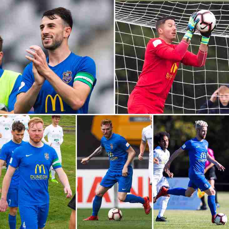 Experienced quintet return to Southern United in hopes to push for play-offs