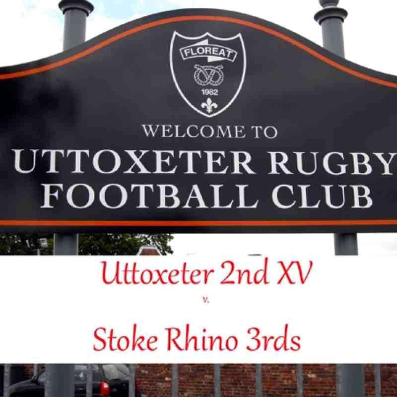 2nd XV v. Stoke Rhino 3rds