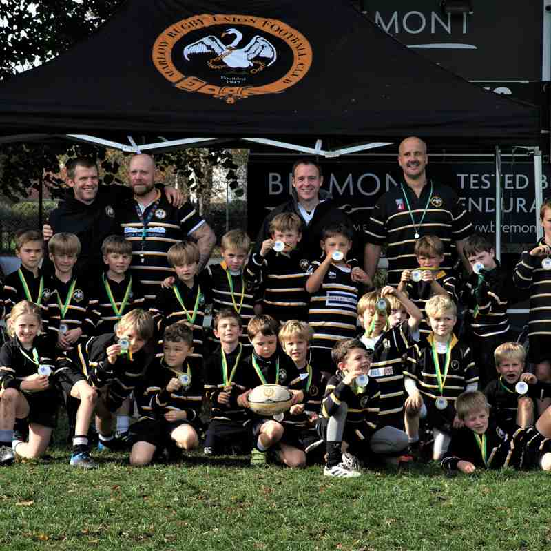 Marlow U8s at Henley Hawks Festival of Rugby 6th October 2018