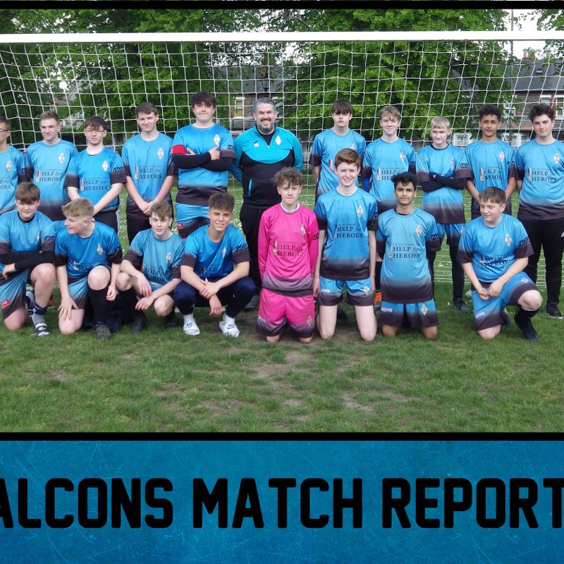 Final day defeat for Falcons