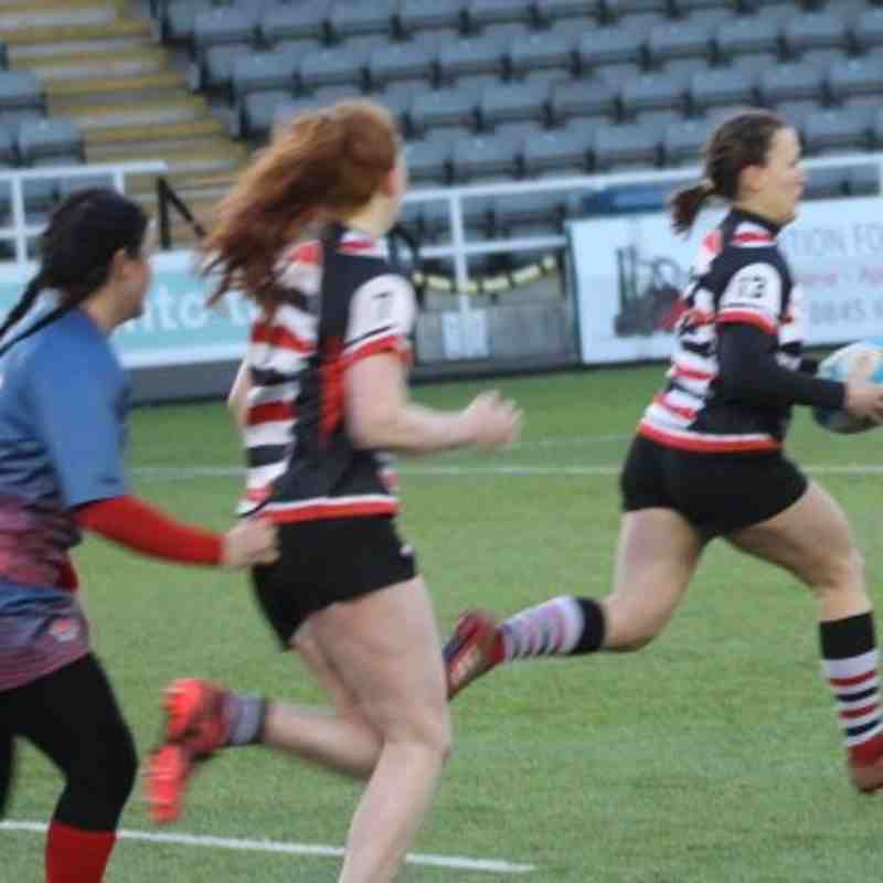 Ladies v Police a Kingston Park