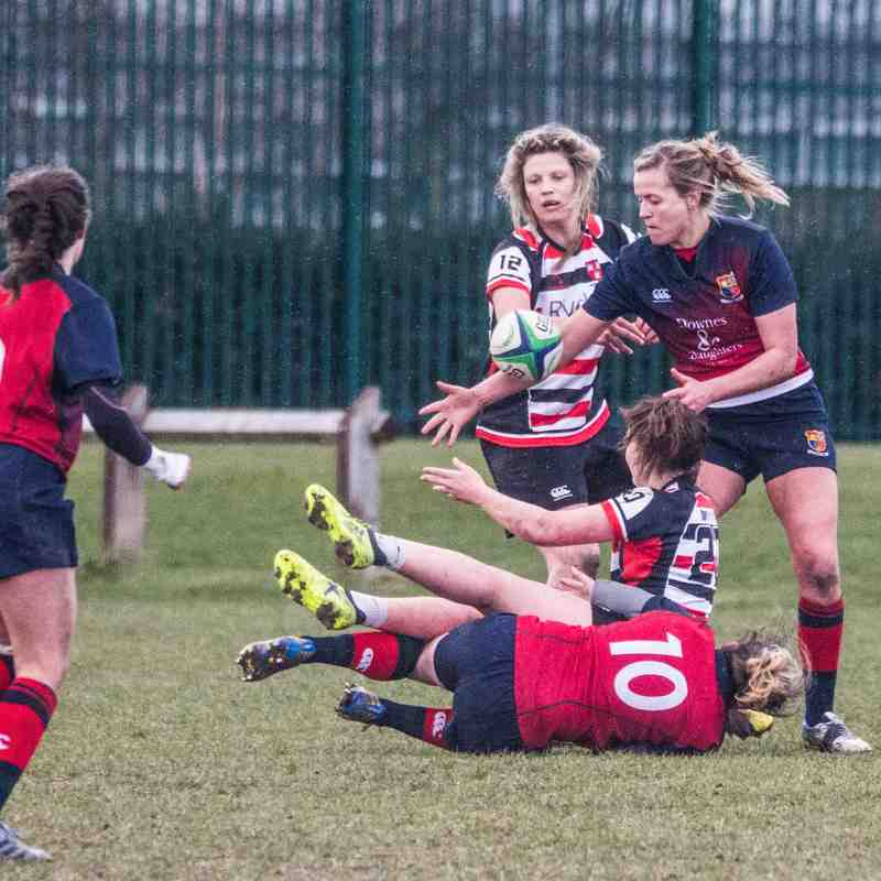Mar 2018 Ladies v Lichfield