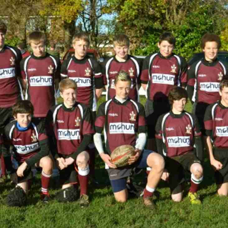 Under 15 squad strengthened.