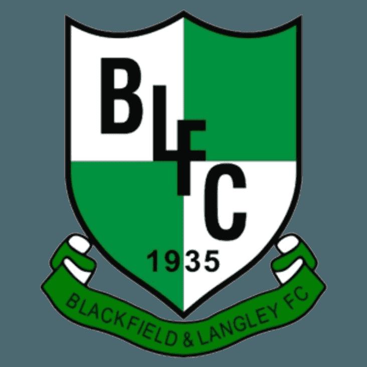 BLACKFIELD & LANGLEY 0 v 0 PAULTON ROVERS