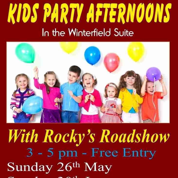 KIDS PARTY AFTERNOONS