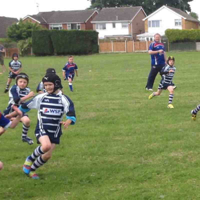 Under 8's vs Featherstone 09/06/13