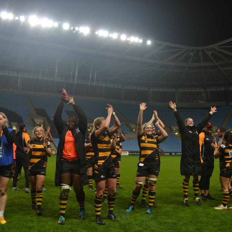 Wasps fight for win in double header at Ricoh Arena