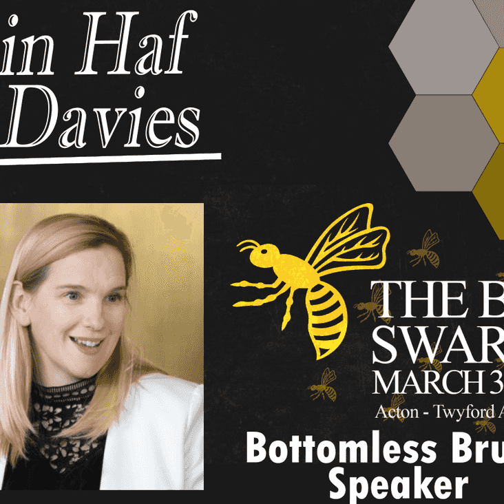 Elin Haf Davies to be speaker for The Big Swarm