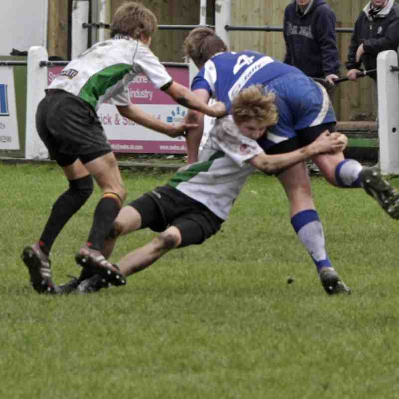 All Whites U15 vs Kingsbridge U15 by Rob Hubbard