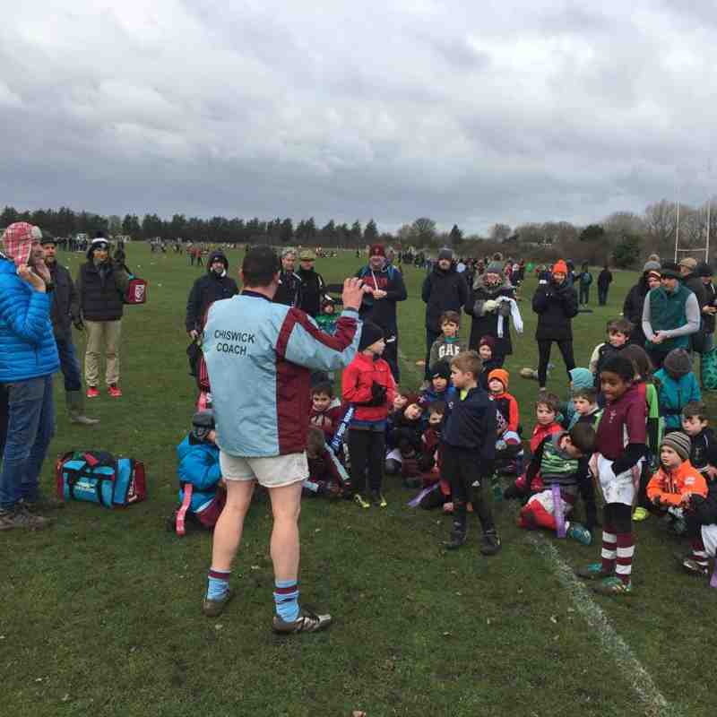 Chiswick RFC Joint Training U7's