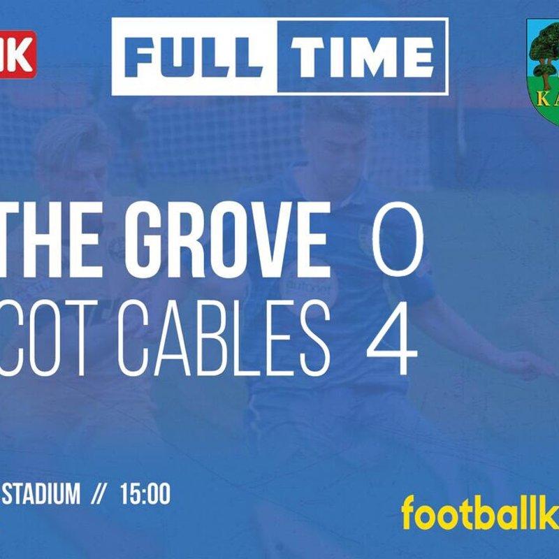 Match Report: Kidsgrove Athletic 0-4 Prescot Cables