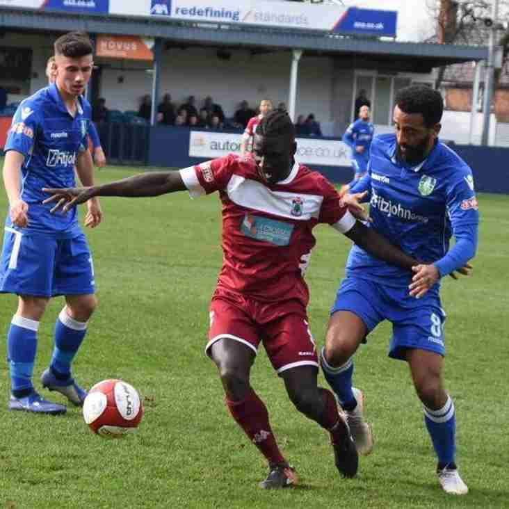 Match Report: Kidsgrove Athletic 0-2 Colwyn Bay
