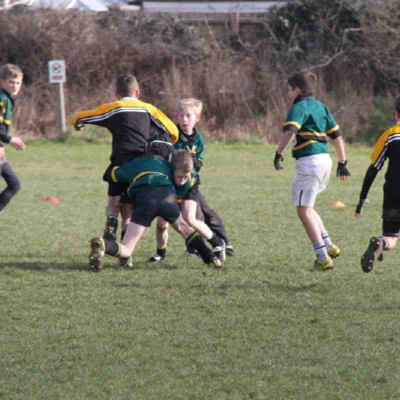 Vipers U11 vs Oadby Wyggs 26/02/2012