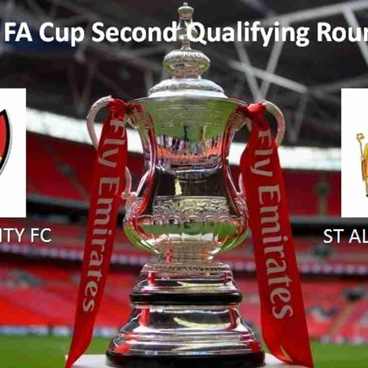 Tonight's Emirates FA Cup Replay - 2nd Qualifying Round
