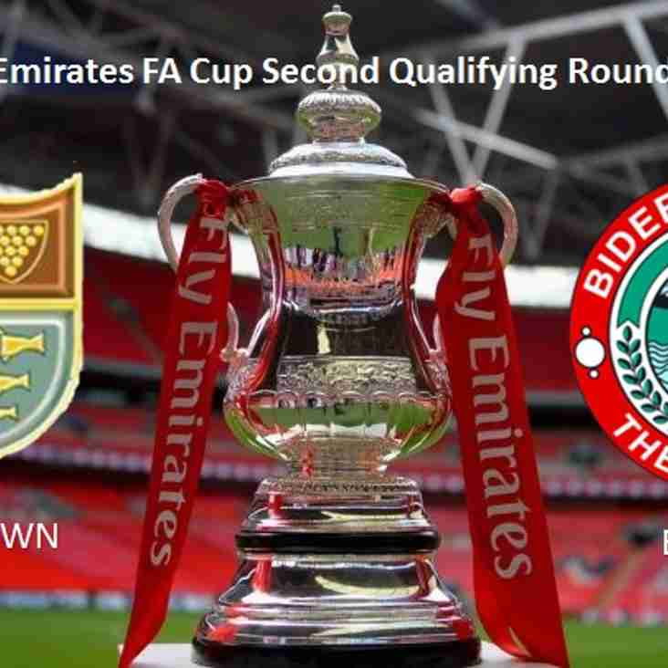 Tonight's Emirates FA Cup Tie - 2nd Qualifying Round