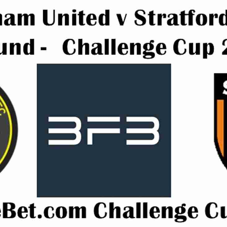 Tonight's BIG FREE BET Challenge Cup Fixture
