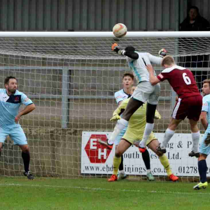 Keeper's powerful header secures FA Trophy replay