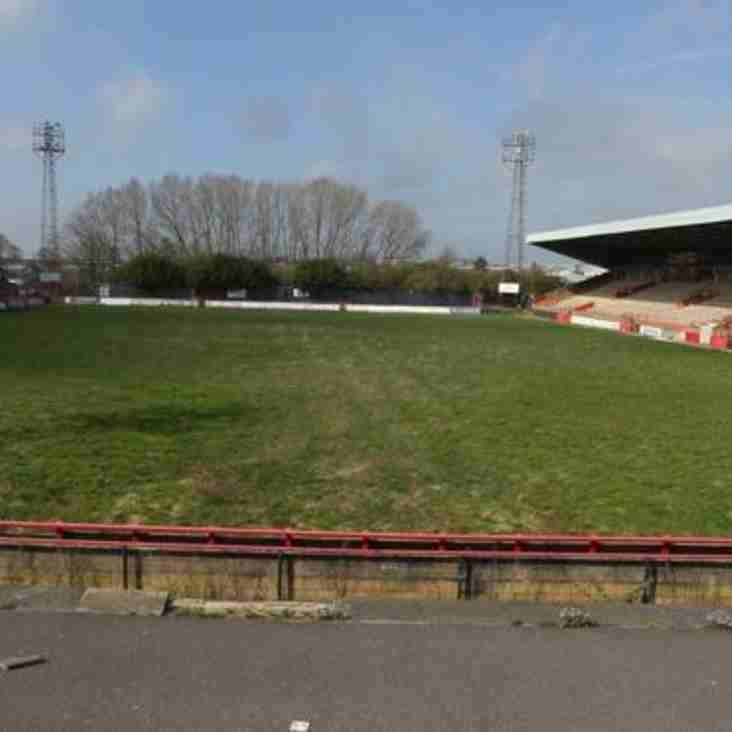 Kettering Town football fans remembered at derelict ground