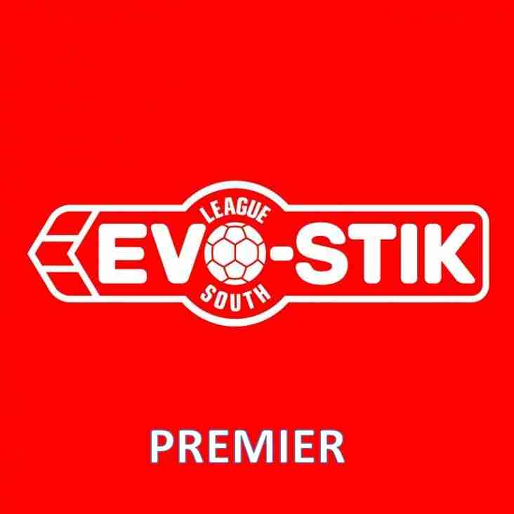 Saturday's Evo-Stik League South - Premier Fixtures