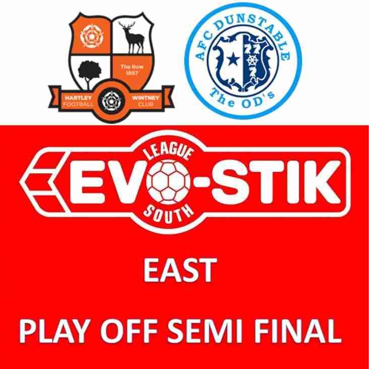 Tonight's Evo-Stik League South - East - Play Off Semi Final
