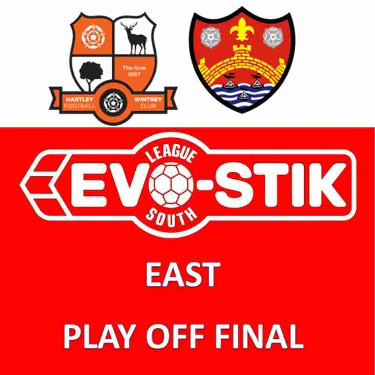 Monday's Evo-Stik League South - East - Play Off Final Preview