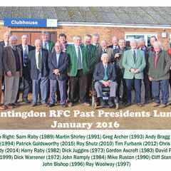 Past Presidents Lunch - January 2016