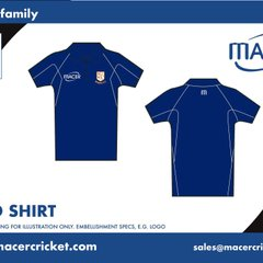 Widnes Cricket Club Kit from Macer