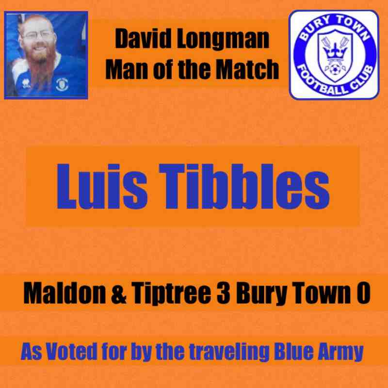 David Longman Man of the Match