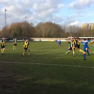 Bury Town take another vital win as they push for play off spot