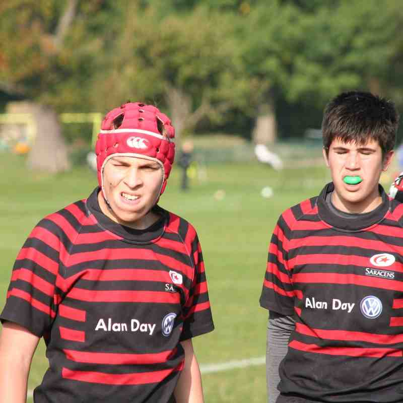 U14 Crusaders v Cheshunt (home) 29-10 - 20161023